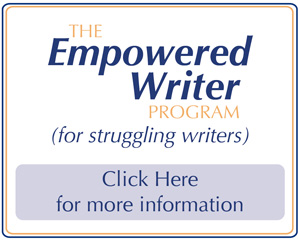 The Empowered Writer Program